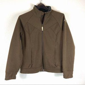 Burton Women's Lightweight Brown Coat Large